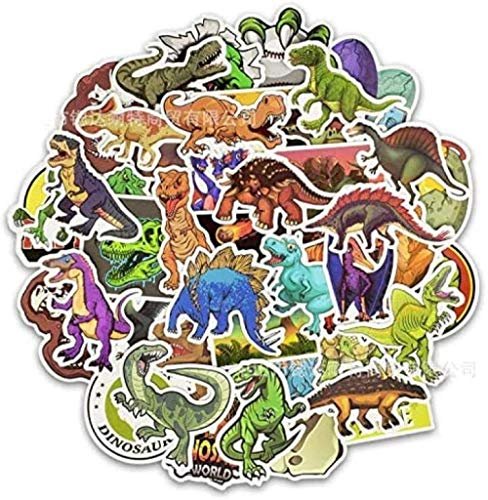 Stickers DinosaurPack Cute Animal Graffiti Educational Cartoon Stickers Toys for Children On Scrapbooking Diarybook 50Pcs
