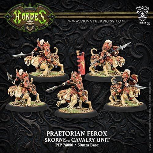 los clientes primero Hordes Skorne Skorne Skorne Praetorian Ferox Cavalry Unit Box by Privateer Press Miniatures  compra en línea hoy