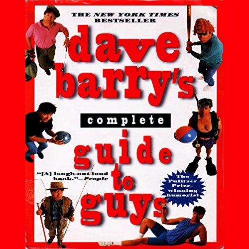 Dave Barry's Complete Guide to Guys audiobook cover art
