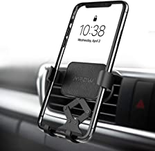Mpow Gravity Auto-Clamping Car Mount, Hands-Free Car Phone Holder, One-Hand Operation, Auto-Lock, Auto-Release for iPhone 11Pro Max/11Pro/11/XS Max/XS/Xr/X/8S/8/7/6 Plus, Galaxy S10/S9/S8, Huawei, etc