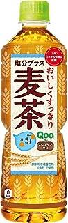 コカ・コーラ ミニッツメイド Qoo 塩分プラス麦茶 600mlPET ×24本