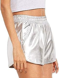 Pantalones Cortos Pantalones esPlateado Cortos MujerRopa Amazon esPlateado Amazon Pantalones MujerRopa Amazon esPlateado qVSLpMGUz
