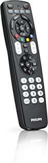 Philips SRP4004/Perfect Replacement Universal Remote Control (Black)