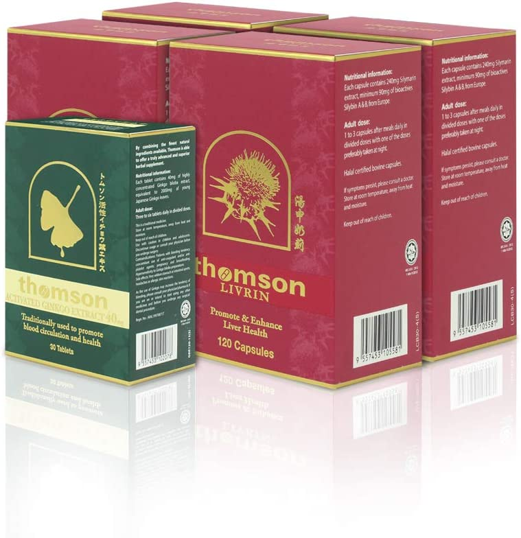 Thomson Livrin Liver Support latest Milk 240mg Extract Thistle 120's L Popular brand in the world
