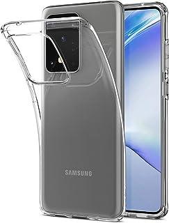 Galaxy S20 Ultra Case, Spigen Liquid Crystal Designed Crystal Clear