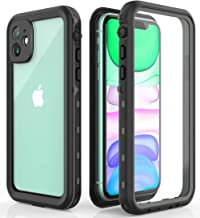 Waterproof Case for iPhone 11, iPhone 11 Case - Military Grade Drop Tested, Full Body, 360 Protective, Shockproof, Drop Proof Cases Cover Built-in Screen Protector for iPhone 11 6.1