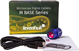 Levenhuk M130 Base Digital Camera for Microscopes, Comes with Software (Compatible with Mac, Linux and Windows)