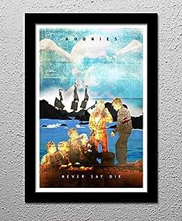 Goonies - Never Say Die - Original Minimalist Art Poster Print