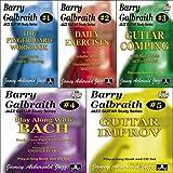Barry Galbraith Jazz Guitar Study Series Complete Set Volumes 1-5 (1-2-3-4-5)
