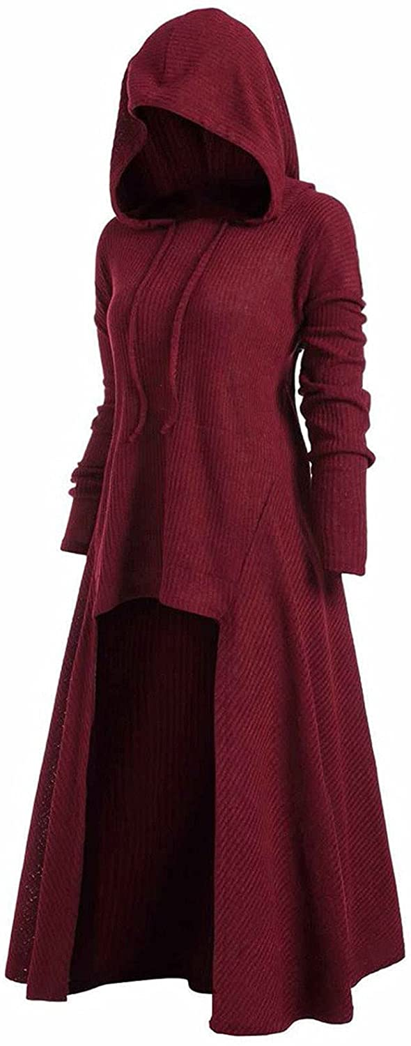 Wuztai Popular Womens Dresses Solid Color Hoodie Round Long Sleeve Neck Spasm price