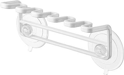 山崎実業(Yamazaki) 歯ブラシスタンド ホワイト 約W15XD4XH6cm ミスト 4241