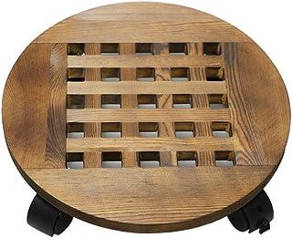 KaseHom Floor-Standing 100% New Universal Wheel Flower Pot Tray
