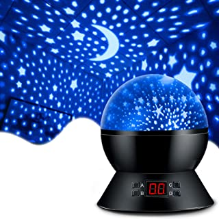 MOKOQI Star Projector Night Lights for Kids With Timer,...