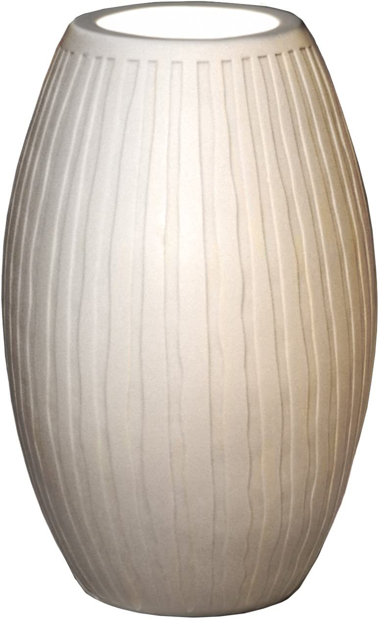 Justice Design Seasonal Wrap Purchase Introduction Limoges Tall Accent Egg Lamp Waterfall
