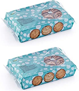 IKEA KAFFEREP Oat biscuits, chocolate, UTZ certified (Pack of 2, Total 42.4 OZ, 21.2 OZ Each)