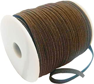 Brown Elastic Band Rubber Elasticated x50
