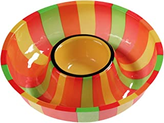 Creative Converting (050831) Plastic Fiesta Chip and Dip Tray