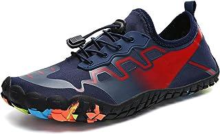 الأزياء والأحذية الصيف أحذية المياه الرجال تنفس شاطئ النعال المنبع أحذية السباحة الصنادل الغوص الجوارب مناسبة لركوب الدراج...