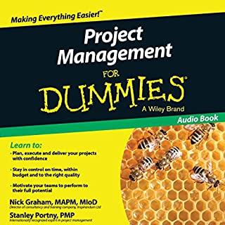 Project Management for Dummies audiobook cover art