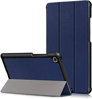 XINKOE Case For Lenovo Tab M8,Premium Quality PU Leather Case Slim Flip Shell Case for Lenovo Tab M8 -Blue