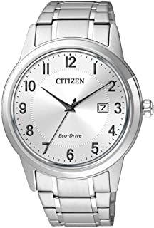 Citizen Men's Analogue Eco-Drive Watch with Stainless Steel Strap AW1231-58B