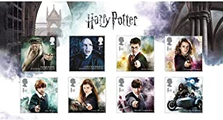 Harry Potter Complete Character Collection Pack Royal Mail Postage Stamps 2018