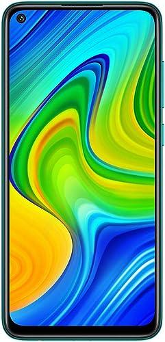 Xiaomi Redmi Note 9 - Smartphone Débloqué 4G (6.53 Pouces, 4Go RAM, 128Go ROM, Double Nano-SIM) Vert - Version França...