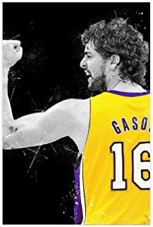 SZM PAU Gasol Baloncesto Jersey Aptitud Deportiva Transpirable de Secado r/ápido oscilaci/ón Jersey