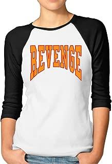 Womens Drake Revenge Summer Sixteen Tour OVO PullOver Jerseys Baseball Raglan T Shirts