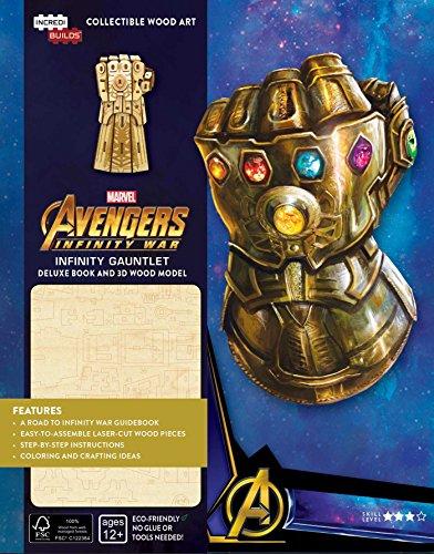 IncrediBuilds: Marvel Infinity Gauntlet Deluxe Book and Model Set