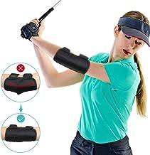 osoo Health Gear Golf Training Aid Swing Elbow Trainer Golf Posture Brace for Beginners Training with Tok-Tok Sound Notifi...