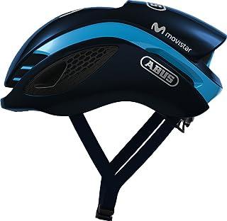 Abus gamec Hanger Bicicletta da corsa casco–Movi Star Team Helmet 2018Shiny