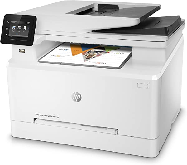 HP LaserJet Pro M281fdw All In One Wireless Color Laser Printer Amazon Dash Replenishment Ready T6B82A