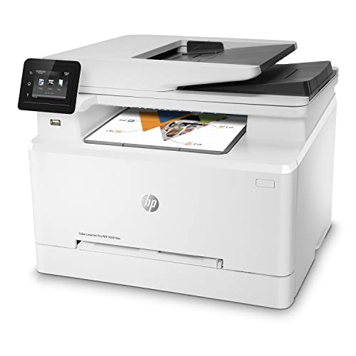 HP LaserJet Pro M281fdw All in One Wireless Color Laser Printer, Amazon Dash Replenishment ready (T6B82A)