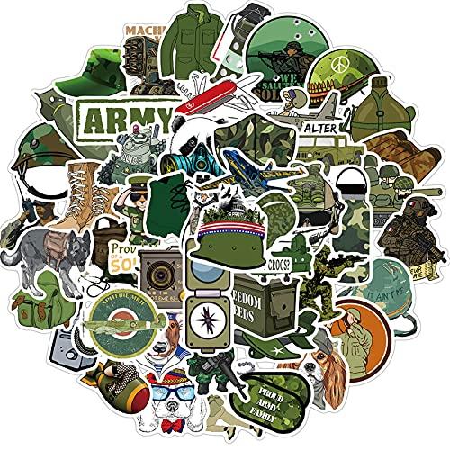 Pegatinas De Grafiti De Dibujos Animados Militares, 150 Uds, Bricolaje, Portátil, Equipaje, Maleta, Coche, Bicicleta, Casco, Teléfono, Pegatina, Juguete