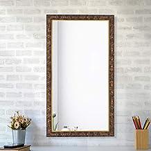 Creative Arts n Frames Decorous Fibre Wood Made Bathroom Wall Mirror (1)