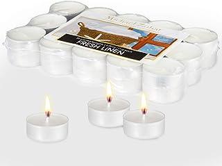 Michael Zohar Candles Scented Tealight 30 Pack Premium Light, for Spa, Meditation, Romantic Decor, Long Burning, Smokeles...