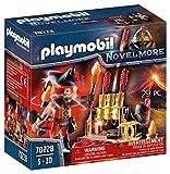 PLAYMOBIL Novelmore 70228 Burnham Raiders Feuerwerkskanonen und Feuermeister, für Kinder von 5-10...