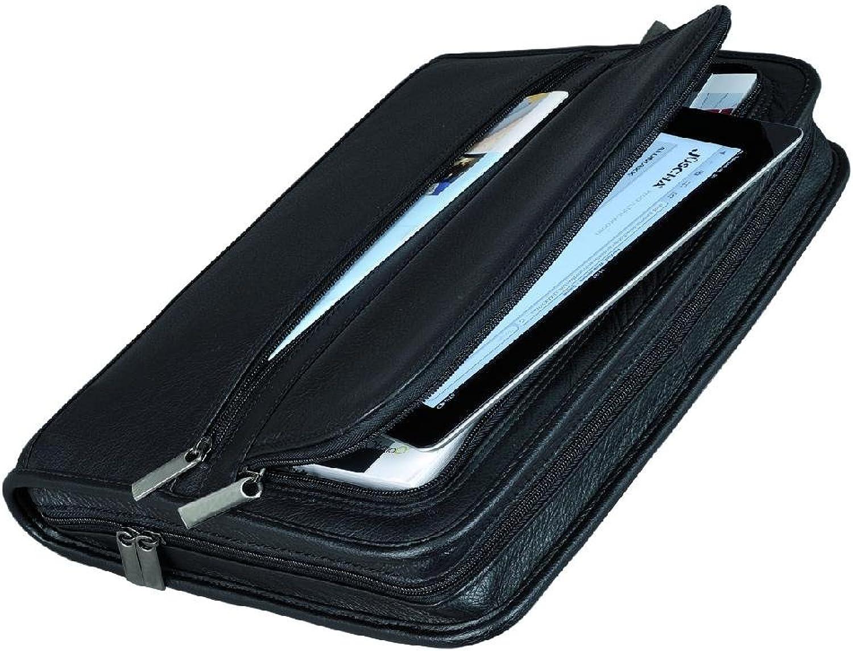 30062 Ringbuchmappe A4 CARPO 2-er Ringmechanik, Block, gepolstertes Einschubfach (für Tablet PC geei(Liefermenge=2) B00JXIV3P6 | Gute Qualität