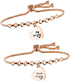 matching charm bracelets for sisters
