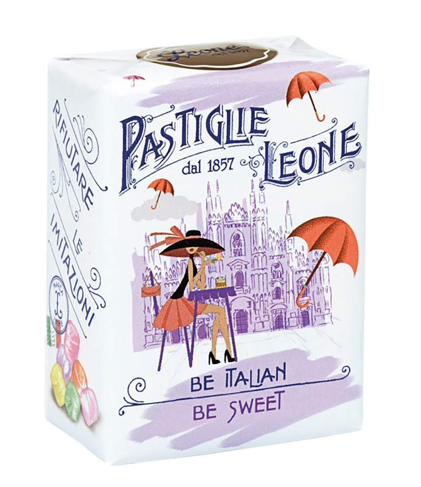 Pastiglie All items free Over item handling ☆ shipping Leone. Be Italian. Mixed flavors Milan. candy 30g - 1