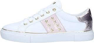 Guess Baskets Femme Paxtina Blanc: : Chaussures et Sacs