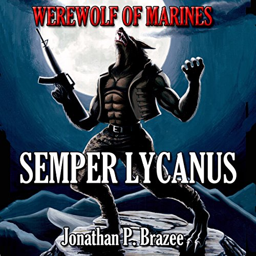 Werewolf of Marines audiobook cover art