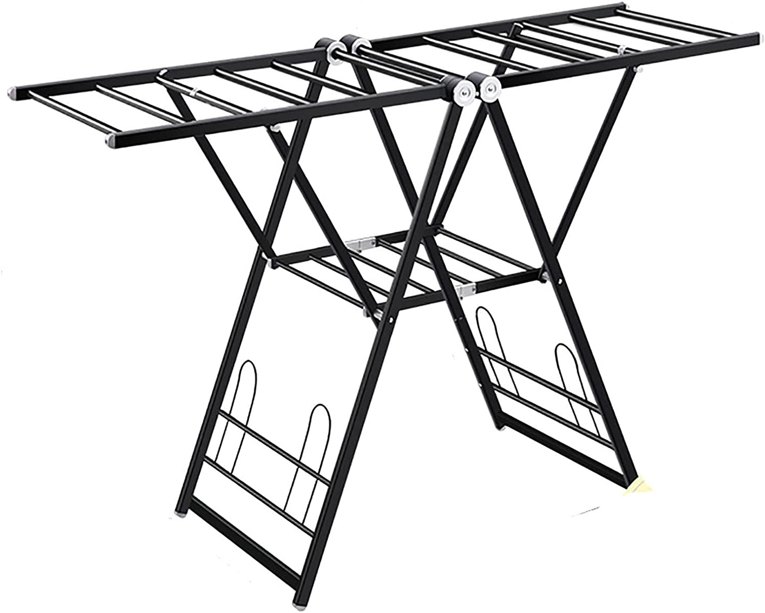 Clothes Airer Indoor Home Balcony Large special price Folding Dryi Installation-Free supreme