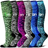 Compression Socks for Women and Men - Best Medical,for Running, Athletic, Varicose Veins, Travel. (Assorted9,...