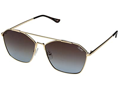 QUAY AUSTRALIA Better Off (Gold/Brown) Fashion Sunglasses
