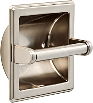 Franklin Brass 9097sn Recessed Paper Holder Satin Nickel Tissue Holders Amazon Com