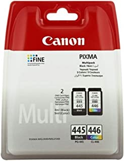 Canon PG-445/CL-446 BK/C/M/Y Ink Cartridge, Multipack