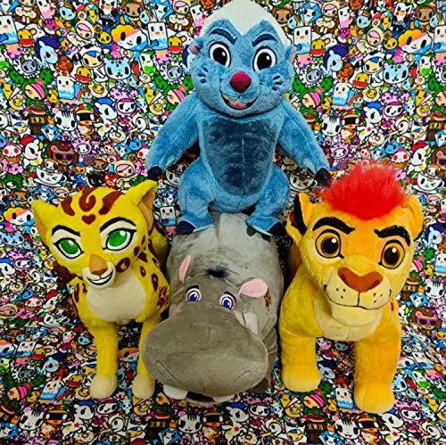 wyxin 4 Piezas El Rey León Guardia Kion Bunga Fuli Simba Rafiki Timon Pumba De Peluche De Juguete 20Cm, Animales De Peluche Suaves Regalos para Niños
