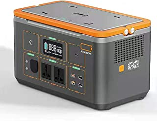 DECUHTE Portable Generator Power Station Emergency Backup Lithium Battery Quiet GasDECUHTE Free Power Inverter USB Charge/...